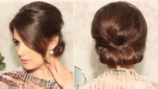 Coiffure simple et rapide photo coiffure pour un entretien - Chignon annee 60 ...