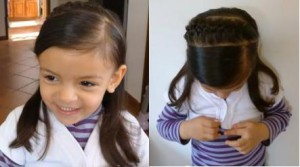 photo de coiffure pour anniversaire fille