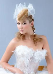 photo de coiffure mariage tendance 2012