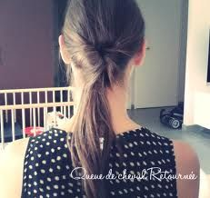 photo de coiffure simple passe par tout