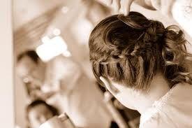 photo de coiffure pour rdv romantique