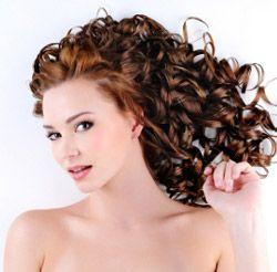 comment boucler cheveux long