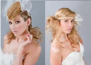 photo de coiffure mariée 2012