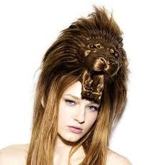 photo de coiffure en folie