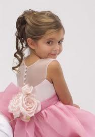 photo de coiffure enfant petite fille