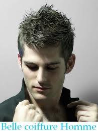 photo de coiffure homme pique