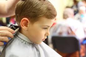photo de coiffure simple petit garçon