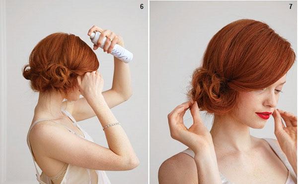 Coiffure simple de soir e coiffure simple et facile - Coiffure mariage simple et chic ...