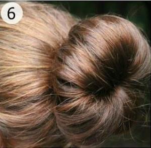 photo de coiffure simple et rapide