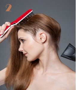 coiffure haute simple chignon