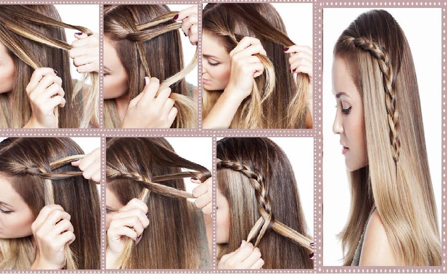 accessoire cheveux coiffure facile