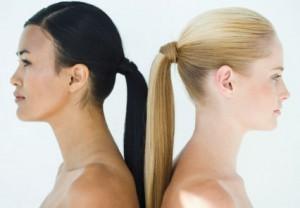Coiffure simple et rapide cheveux  long