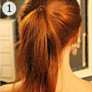 coiffure simple et rapide