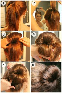 Model coiffure comment faire un chignon