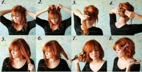 Faire coiffure rapide