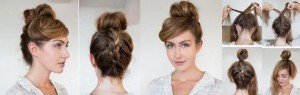 Coiffure simple à faire cheveux courts