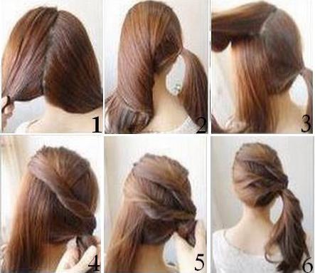 coupe de cheveux simple