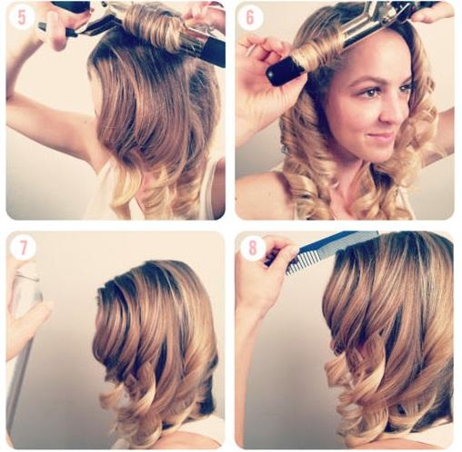 Exceptionnel Coiffure de fete cheveux mi long facile idee coiffure fete | Jeux  YW01
