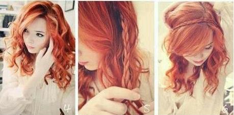 Coiffure simple pour soir e coiffure simple et facile - Coiffure soiree simple ...