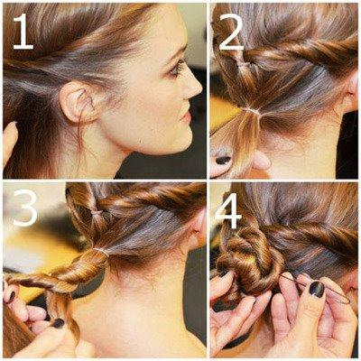 Belle coiffure simple | Coiffure simple et facile