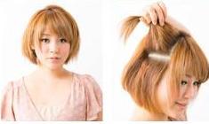 Coiffure sur cheveux courts