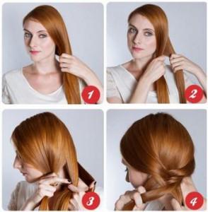 Coiffure femme cheveux  long