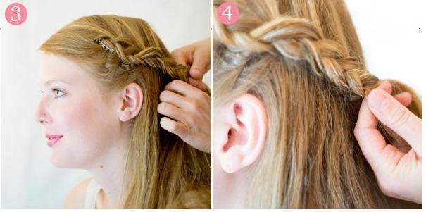 Coiffure simple pour mariage coiffure simple et facile - Coupe pour mariage invite ...