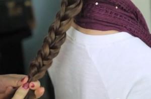 Coiffure simple pour petite fille