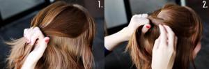 Coiffure sur cheveux court