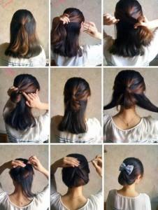 Comment faire une coiffure simple et rapide