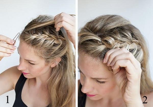 Coiffure Simple Et Rapide Cheveux Longs Coiffure Simple Et Facile