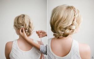 Coiffure fête facile - comment de coiffer seule pour un mariage