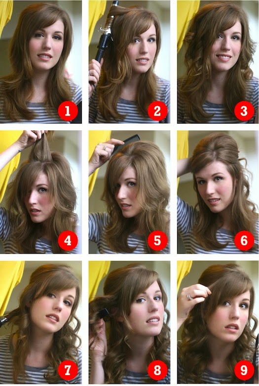 Coupe de cheveux long pour ado fille