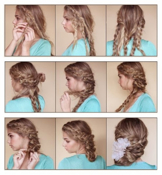 Coiffure mariage cheveux long ado