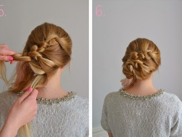 coiffure tresse soi meme – tresse simple à faire  coiffure simple