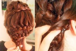Jolie coiffure facile à faire