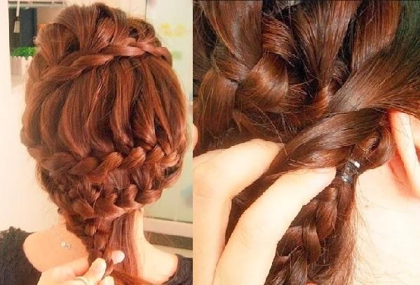 Jolie coiffure facile faire coiffure simple et facile - Coiffure simple a faire ...