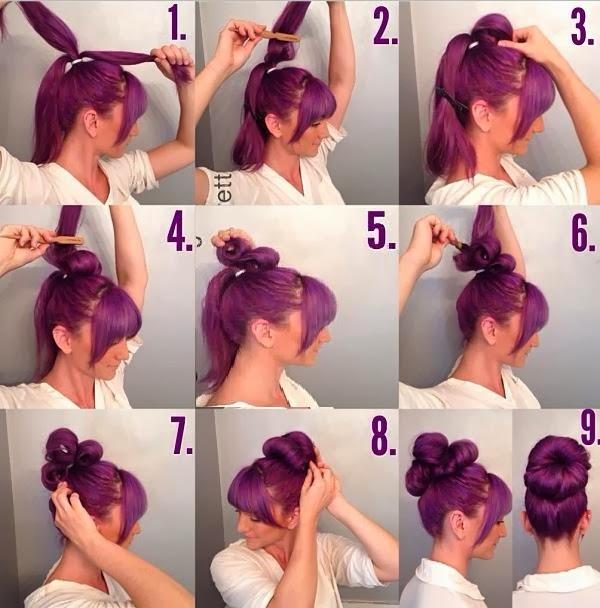 Coiffure A Faire Soi Meme Facile Cheveux Mi Long