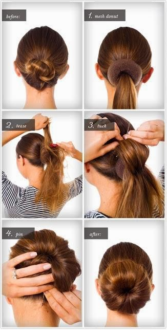 Coiffure simple et facile à faire