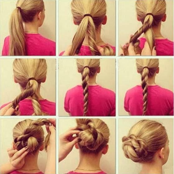 coiffure simple et rapide chignon facile et rapide coiffure simple et facile