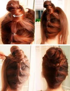 Coiffure tresse pour cheveux long