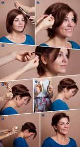 Comment se coiffer avec des cheveux courts