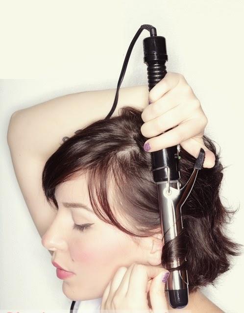 Coiffure simple cheveux courts – Boucler ses cheveux courts ... 9f413748c0c