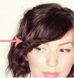 Coiffure simple cheveux courts - Boucler ses cheveux courts