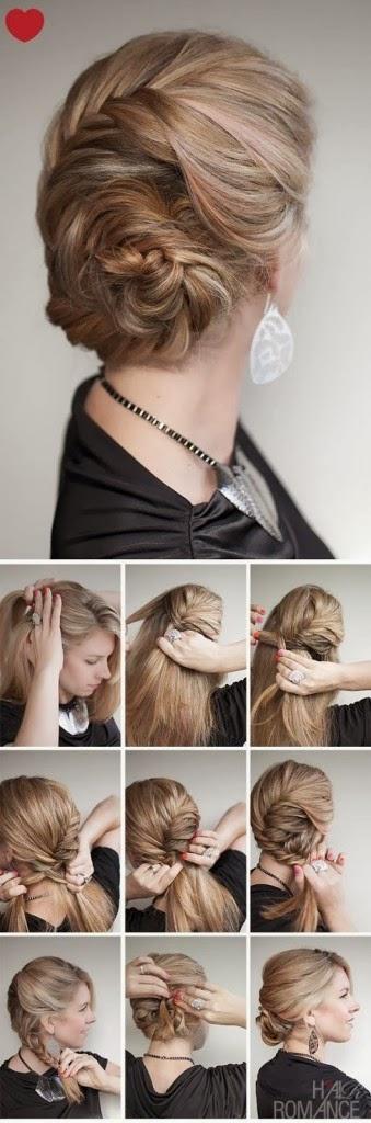 Coiffure cheveux longs soirées