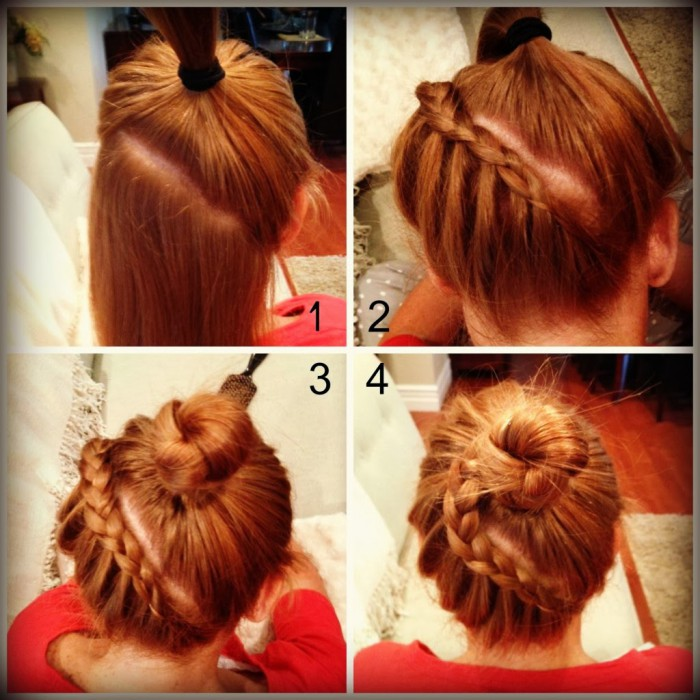 Soiree noel coiffure simple et facile - Coiffure noel facile ...