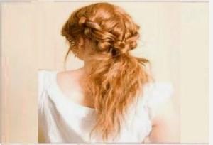 Coiffure pour soirée cheveux frisée à faire soi même