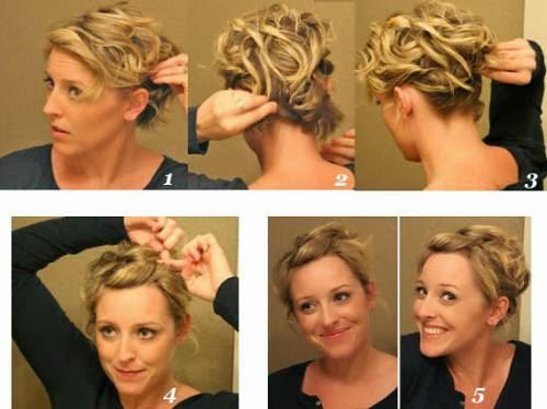 Coiffure Facile Cheveux Courts Coiffure Simple Et Facile