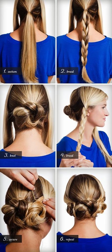 Coiffure facile cheveux longs lisses | Coiffure simple et facile