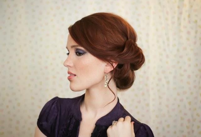 4 coiffures pour le nouvel an coiffure pour le r veillon coiffure simple et facile - Coiffure nouvel an ...